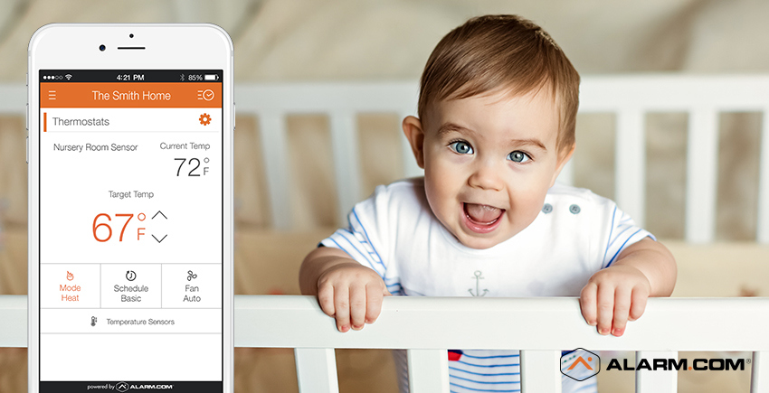 Smart home parenting - newborn